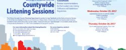 Attend the Countywide Listening Sessions on the Comprehensive Review Draft